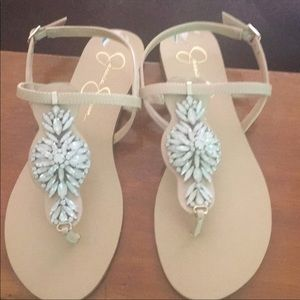 Shoes - New in box Jessica Simpson Beaded Sandals
